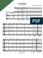 La Llorona Score