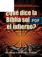 Que Dice La Biblia Sobre El Infierno