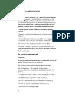 La Fonction Administrative