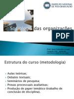 Sociologia Das Organizações