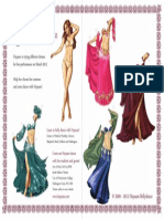 Belly Dance Doll A3