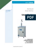 Dust Sentry User Guide V1.1 DRAFT