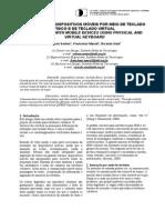 INTERAÇÃO EM DISPOSITIVOS MÓVEIS POR MEIO DE TECLADO FÍSICO E DE TECLADO VIRTUAL INTERACTION WITH MOBILE DEVICES USING PHYSICAL AND VIRTUAL KEYBOARD