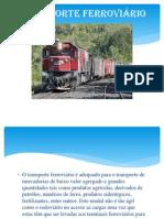 TRANSPORTE FERROVIÁRIO uLBRA