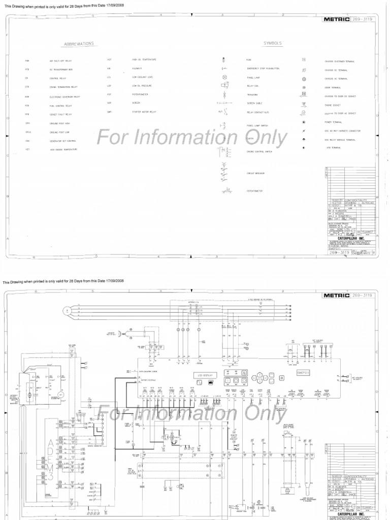 planos electricos c18