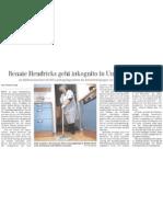 Renate Hendricks Geht Inkog Ito in Uni-Klinik
