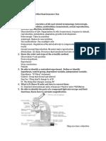 Adv. Bio Sem. 1 Study Guide