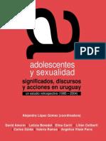 Adolescentes y Sexualidad