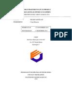 laporan praktikum asetilasi