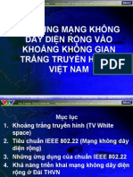 Ung dung TV White Space