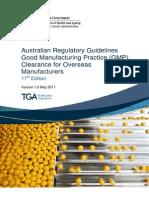 Manuf Overseas Medicines Gmp Clearance 17