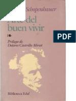 SCHOPENHAUER, Arthur, Arte Del Buen Vivir
