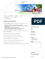 Labuan Tax Exemption