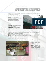 Case Study of Pantaloons Food Plaza at Bhubaneshwar