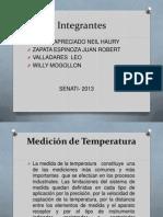 Medición de Temperatura 1