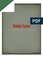 Unit 3 - Skeletal System