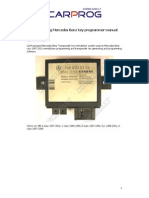 CARPROG MB Key Programmer Manual