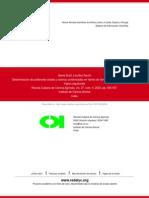 Determinación de Polifenoles Totales y Taninos Condensados en Harina de Forraje de Cuatro Variedades