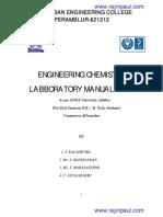 Enigneering Chemistry Lab-manual