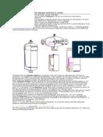 Description of a Pulsation Damper and How It Works