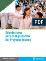 Proyecto Escuela Seguimiento
