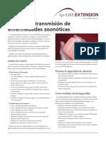 Prevent Zoonotic Diseases Spanish