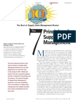 The Seven Principles of Supply Chain Management