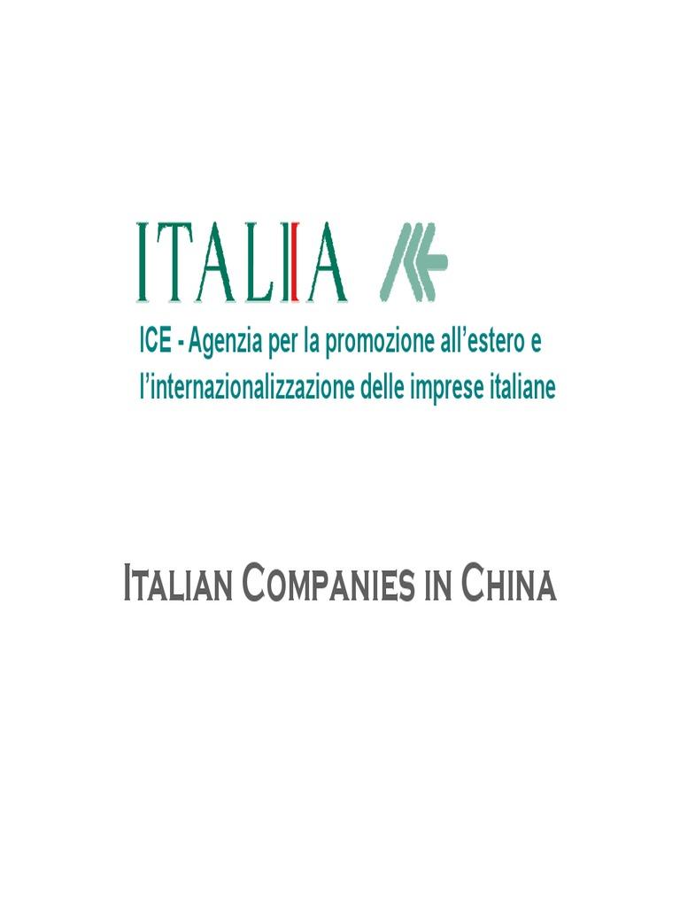 Studio Parisi E Associati Milano italian companies in china | nature