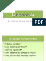 Aula Epistemologia [Slides]