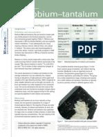 Comm Profile Niobium Tantalum