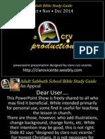 4th Quarter 2014 Lesson 13 Powerpointshow the Everlasting Gospel