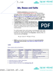Acids Bases Salts - Chemistry