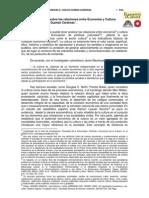 Carlos E Guzmán Cárdenas Perspectivas relaciones Economía y Cultura 2004