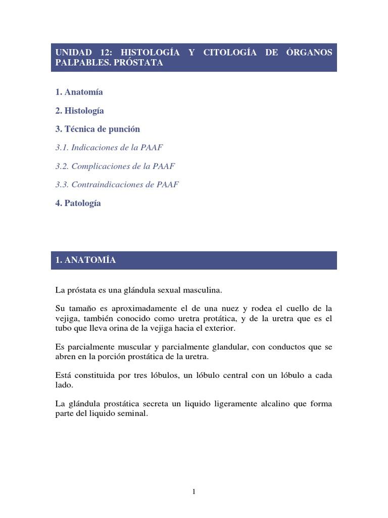 fluido de próstata alcalinos