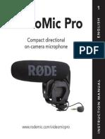Videomicpro User Manual