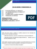 Tema 2 El Modelo is-LM Macroeconomia