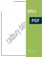 Cadbury Product Profile