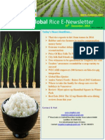 25th December,2014 Daily Global Rice E-Newsletter by Riceplus Magazine