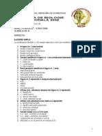 2008 Biologie Etapa Nationala Clasa a Xi-A 11 Practic Final