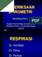 Spirometri Asma