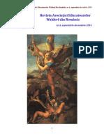 Revista Asociației Educatoarelor Waldorf din Romania, nr. 4, an 2014