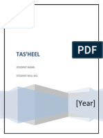 Tasheel Services