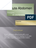 Acute Abdomen RPS