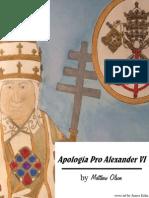 Apologia Pro Alexander VI