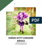 Diário Kitty Cheshire Básica
