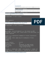 Mysql Commands for DB