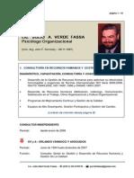 Curriculum Lic Julio Verde Fassa