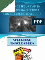 1.-Normas de Seguridad en La Soldadura Electrica Con