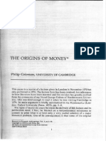 Grierson - The Origins of Money