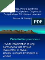 02_Pneumonias. Pleural Syndrome